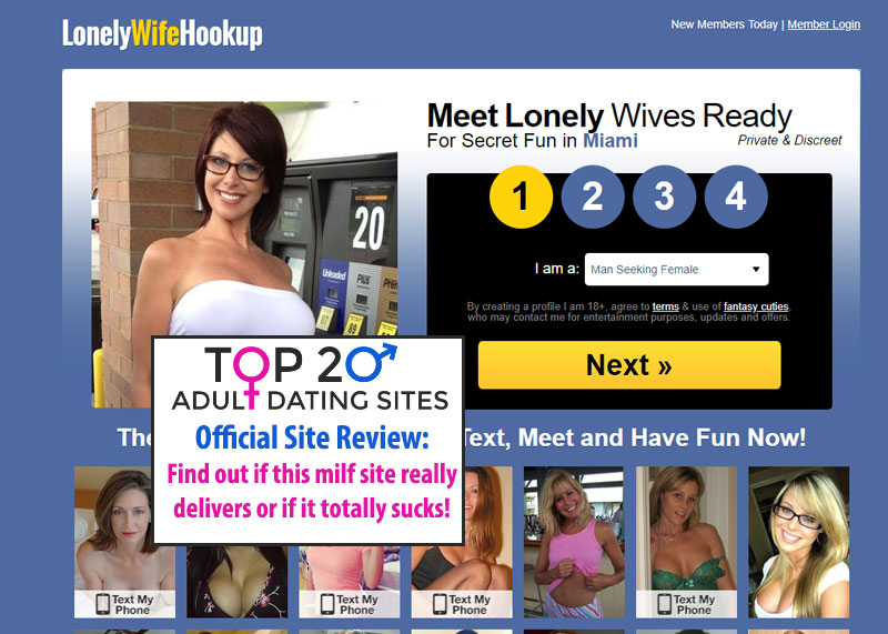 lonely wife hookup